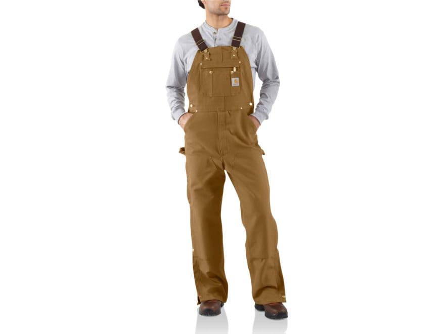 b9221a91492 Carhartt Men's Unlined Zip To Thigh Bib Overalls Cotton. Alternate Image;  Alternate Image; Alternate Image