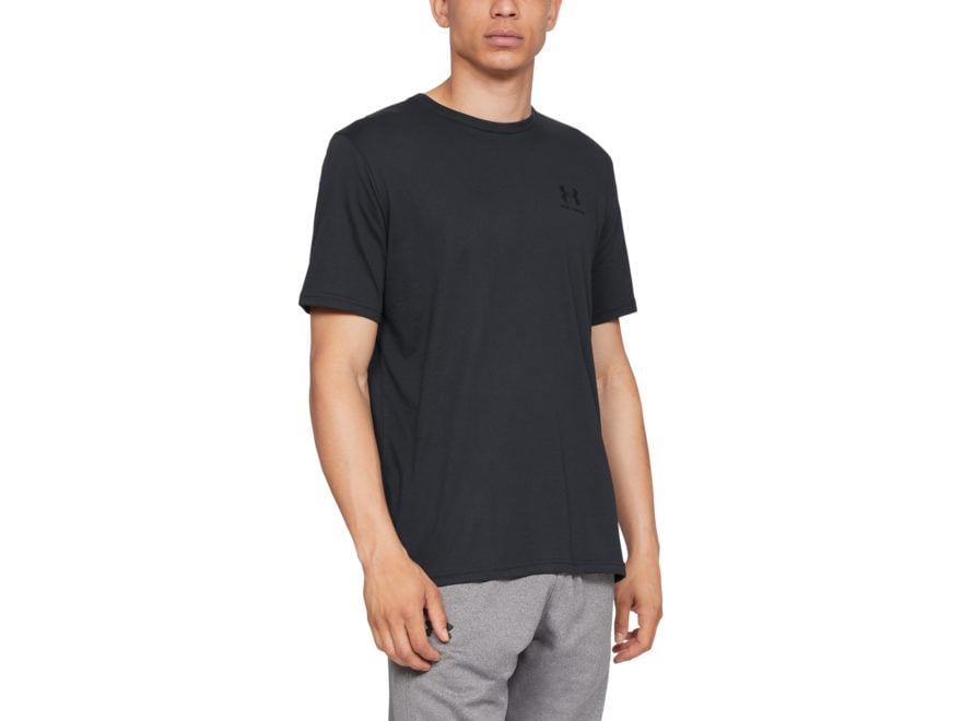 b25c3353cd Under Armour Men's UA Sportstyle Left Chest Short Sleeve T-Shirt Charged  Cotton
