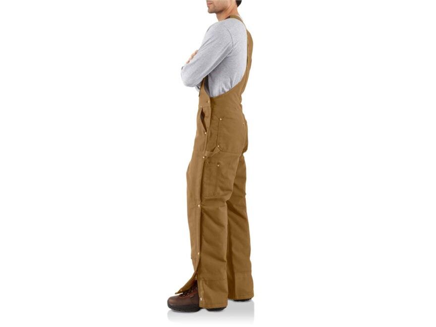 5dca0f34865 Carhartt Men's Quilt Lined Zip-to-Thigh Bib Overalls Cotton. Alternate  Image; Alternate Image; Alternate Image