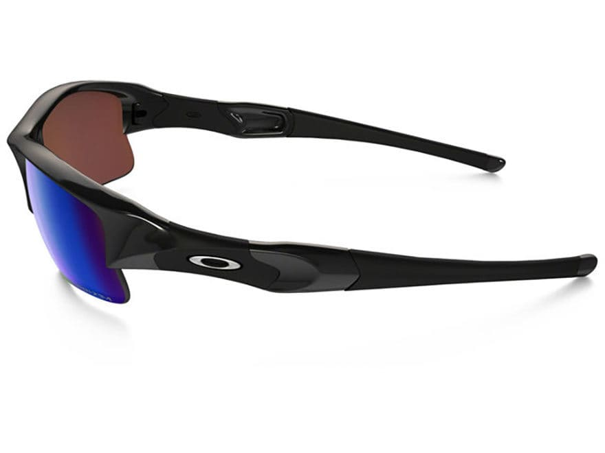 976a6f519ae Oakley Flak Jacket XLJ Polarized Sunglasses Polished Black Frame Prizm Deep  Water Lens. Alternate Image  Alternate Image  Alternate Image ...