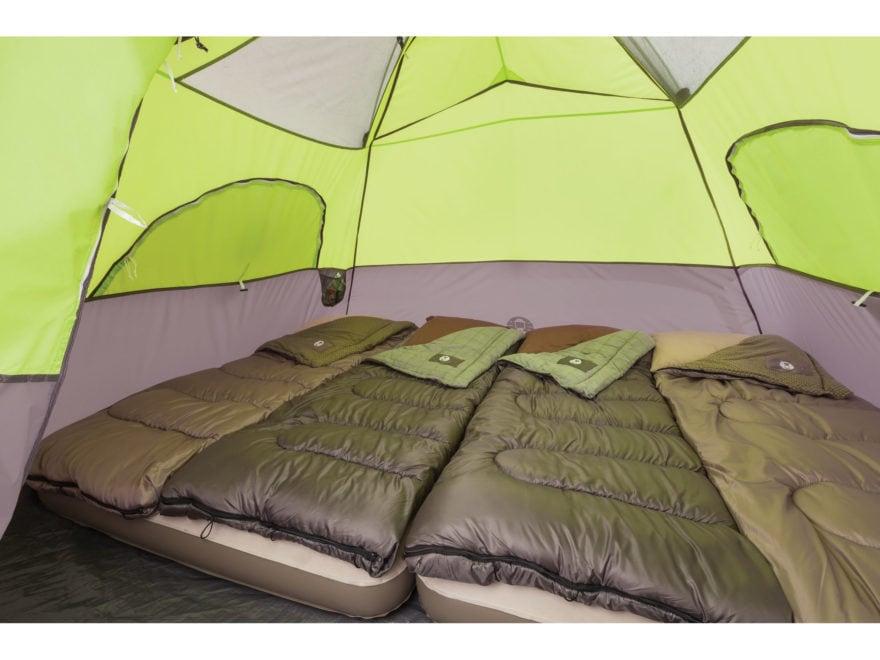 Coleman Aspenglen 6 Man Instant Dome Tent 120 x 108 x70  Polyester Black. Alternate Image; Alternate Image; Alternate Image & Coleman Aspenglen 6 Man Instant Dome Tent 120x 108x70 Polyester Black