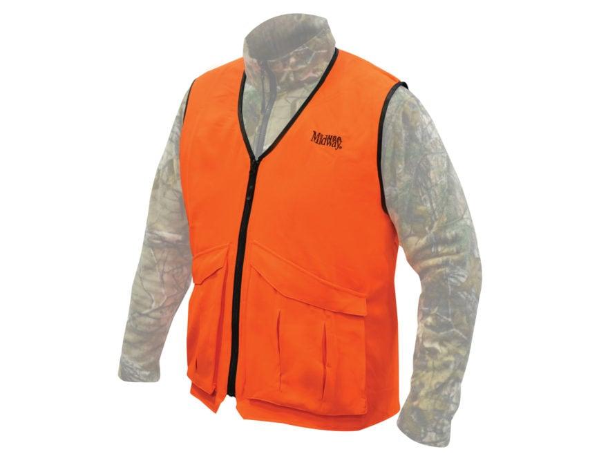 12b5f6625a15b MidwayUSA Deluxe Blaze Orange Vest. Alternate Image; Alternate Image;  Alternate Image