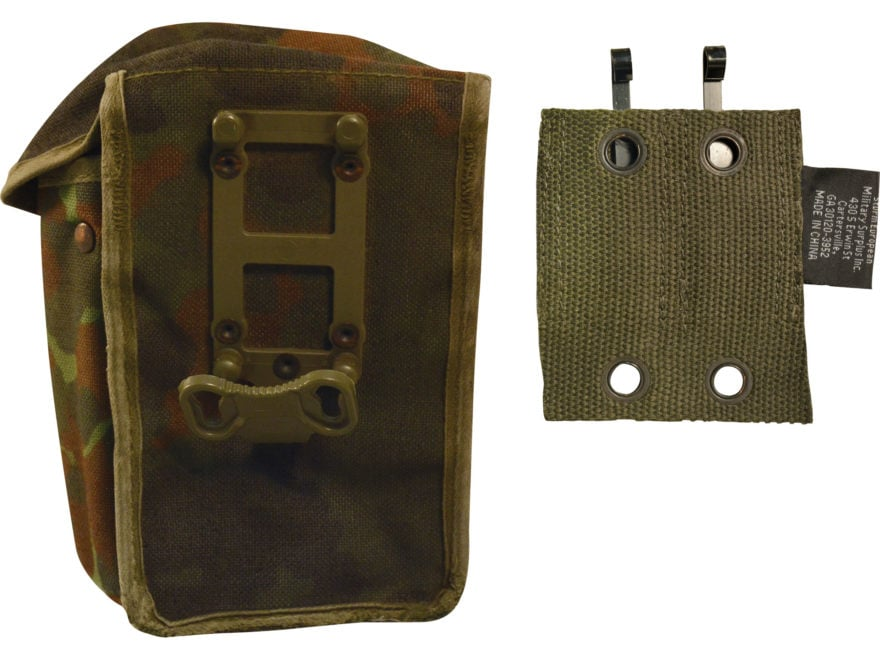 Military Surplus German G3 Mag Pouch Grade 1 Flecktarn Camo