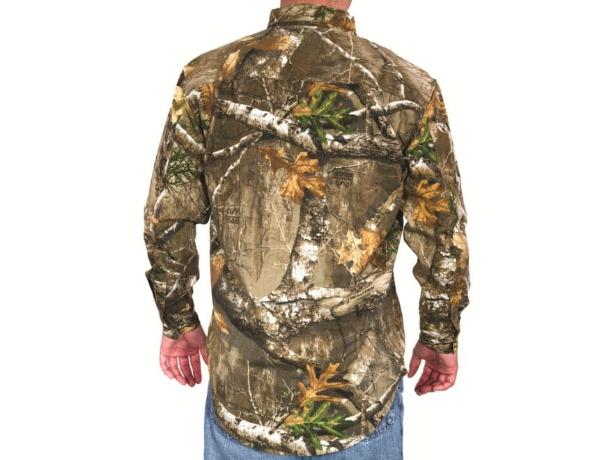 bdebb196 MidwayUSA Men's All Purpose Long Sleeve Field Shirt Realtree Max-1 XT