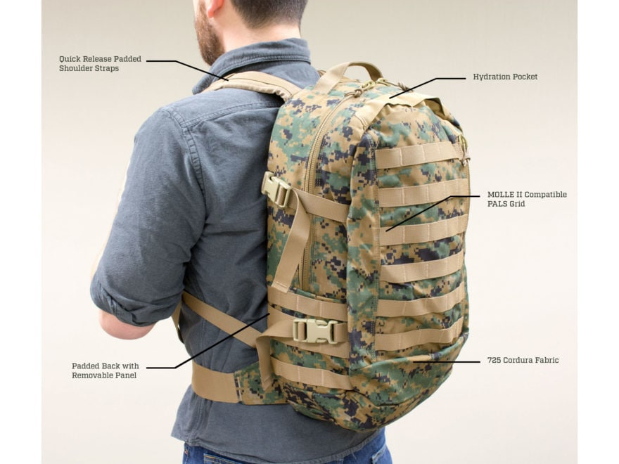 06c3dbf2da Military Surplus USMC Assault Pack Marpat. Alternate Image  Alternate  Image  Alternate Image  Alternate Image  Alternate Image  Alternate Image