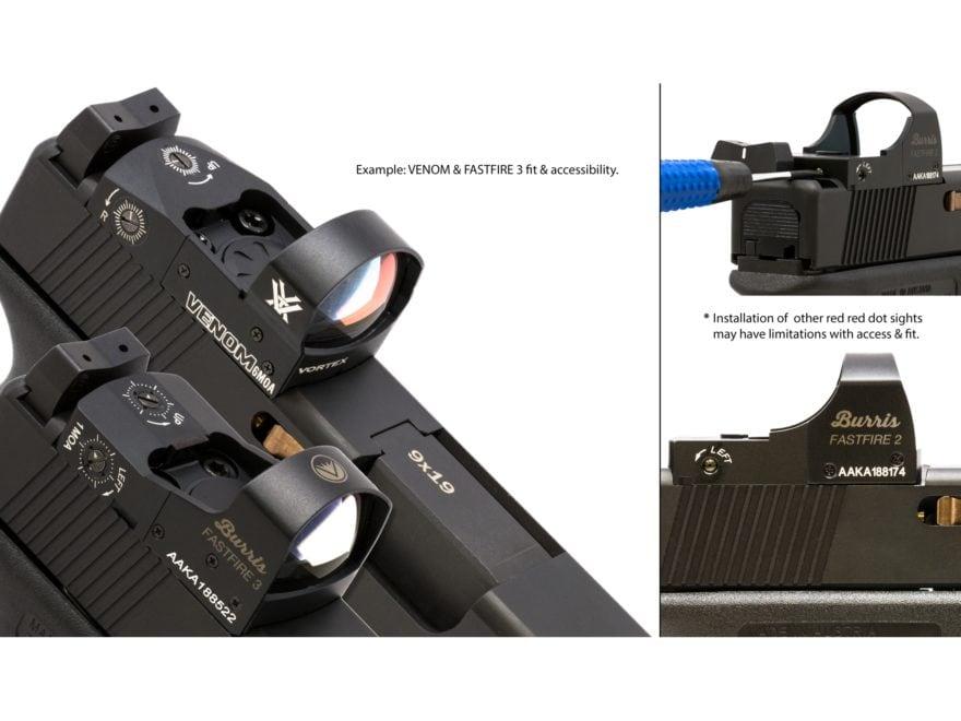 Swenson Slide Vortex Venom Mpn G17 Slide Qpq Red Dot Sight Cut