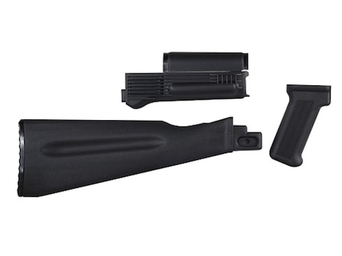 Arsenal, Inc  Complete Buttstock and Handguard Set NATO Length AK-47, AK-74  Stamped Receivers Polymer