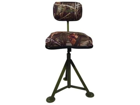 Brilliant Tanglefree Hunting Blind Adjustable Swivel Stool Chair Realtree Max 4 Camo Inzonedesignstudio Interior Chair Design Inzonedesignstudiocom