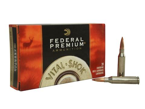 Federal Premium Vital-Shok Ammunition 260 Remington 120 Grain Nosler  Ballistic Tip