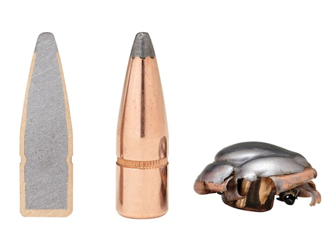 Hornady InterLock Bullets 30 Caliber (308 Diameter) 150 Grain Spire Point  with Cannelure Box of 100