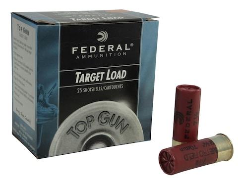 Federal Top Gun Low Recoil Subsonic Ammunition 12 Gauge 2-3/4
