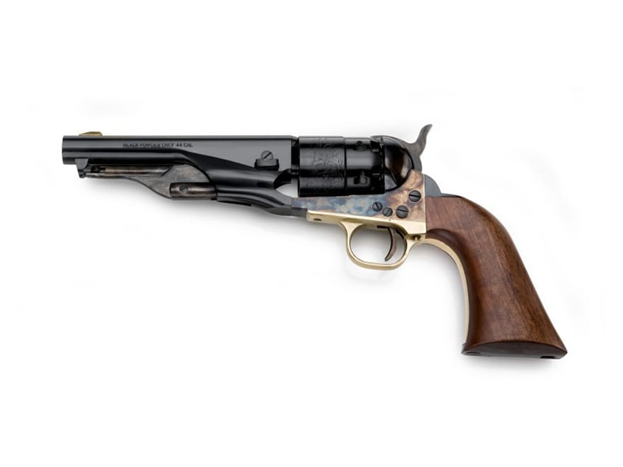 Pietta 1860 Army Sheriff Black Powder Revolver 44 Caliber 5 5