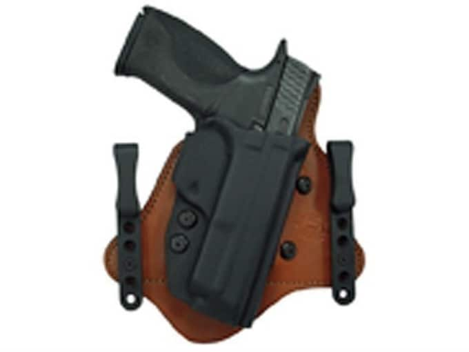 Comp-Tac Minotaur MTAC Inside the Waistband Holster Glock 9mm Luger, 40 S&W  Slide Kydex and Leather