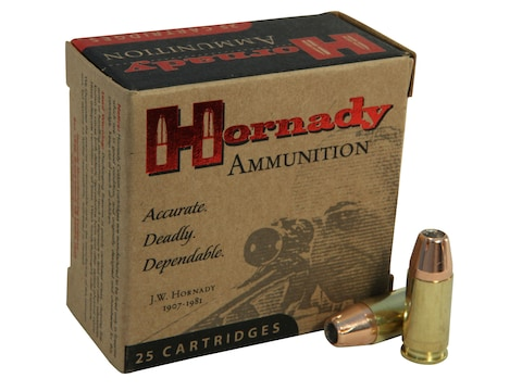 Hornady Custom Ammunition 9mm Luger 147 Grain XTP Jacketed Hollow Point Box  of 25