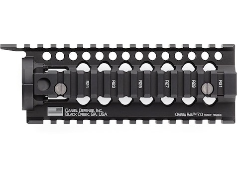 Daniel Defense Omega Free Float Handguard Quad Rail AR-15 Aluminum Black