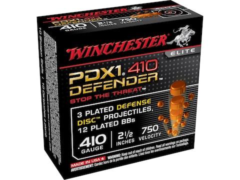 Winchester PDX1 Defender Ammunition 410 Bore 2-1/2