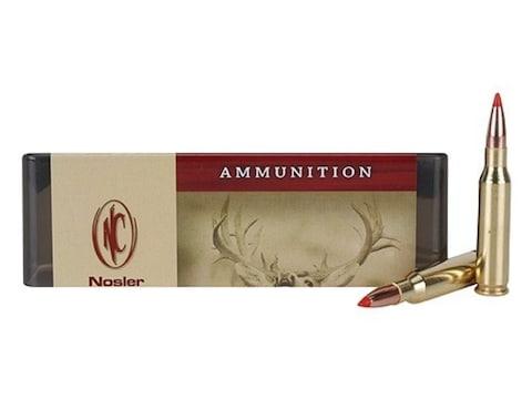 Nosler Custom Ammunition 7mm-08 Remington 120 Grain Ballistic Tip Hunting  Spitzer Box of 20