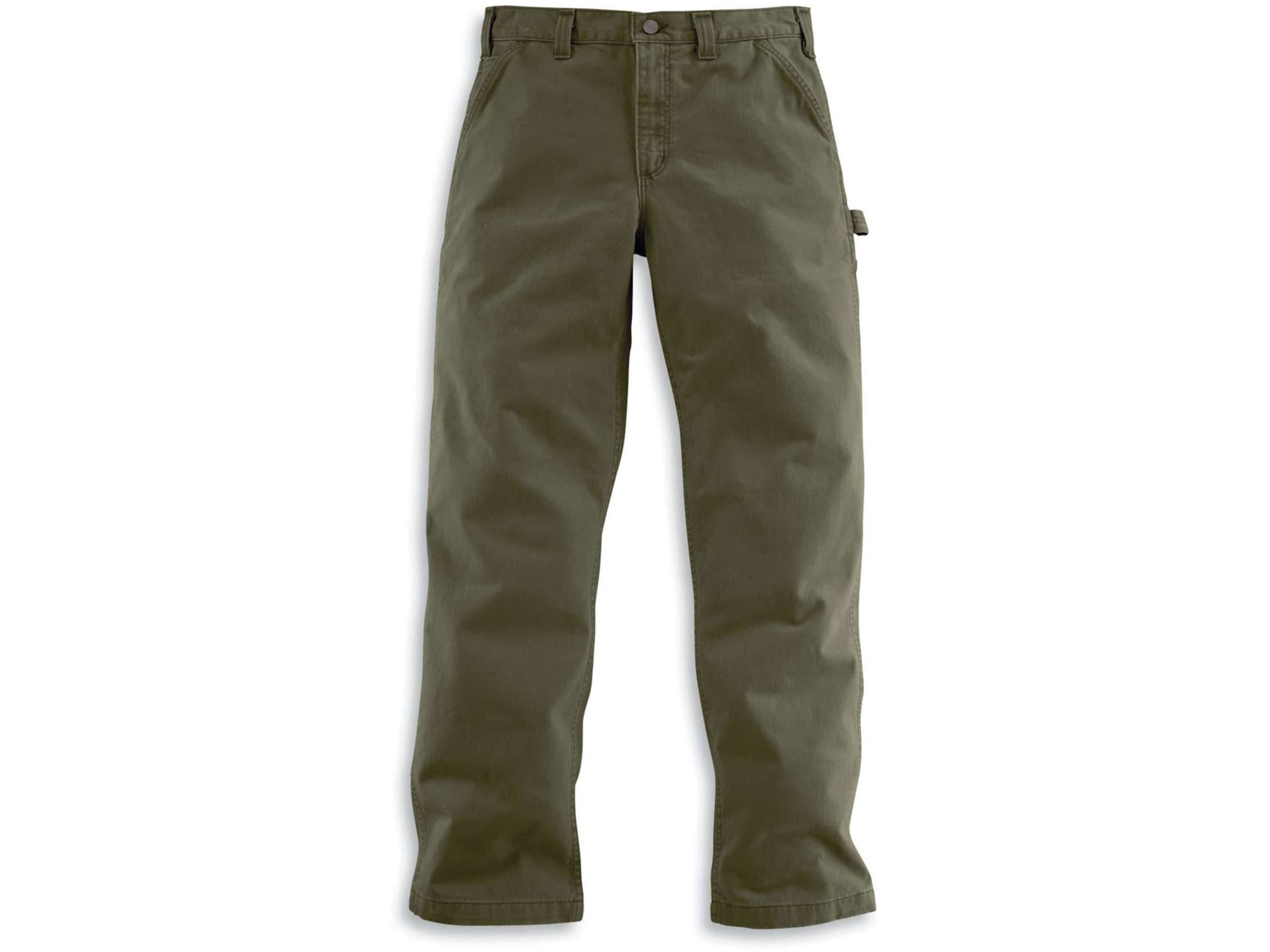 Charcoal or Khaki Carhartt Carpenter Jean Loose or Relaxed Dungaree Pants Brown