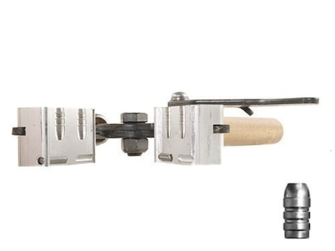 Lee 2-Cavity Bullet Mold C309-113-F 30 Caliber (309 Diameter) 113 Grain  Flat Nose Gas Check