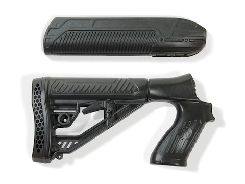 Adaptive Tactical Mossberg 500, 590, Maverick 88 EX Performance Forend and  Adjustable Stock 12 Gauge Polymer