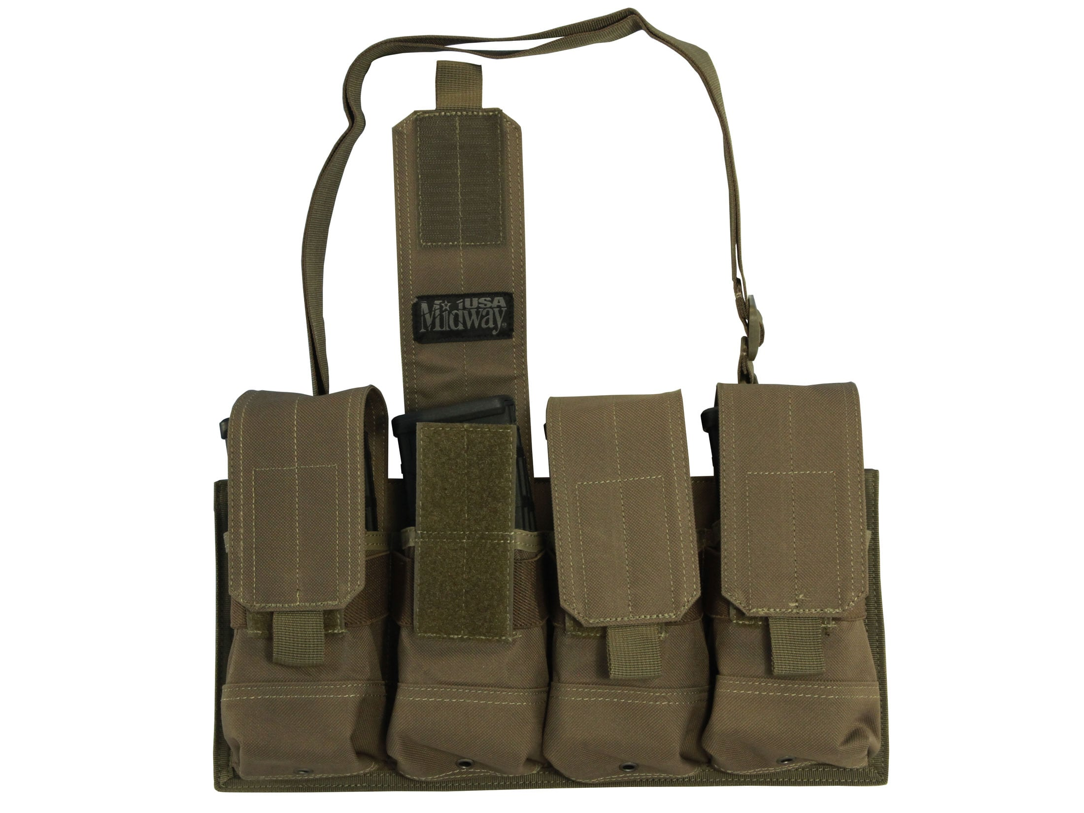 Ace Case 8 Pack Magazine Pouch for 30 Rd 9mm Mags w// Adjustable Shoulder Strap