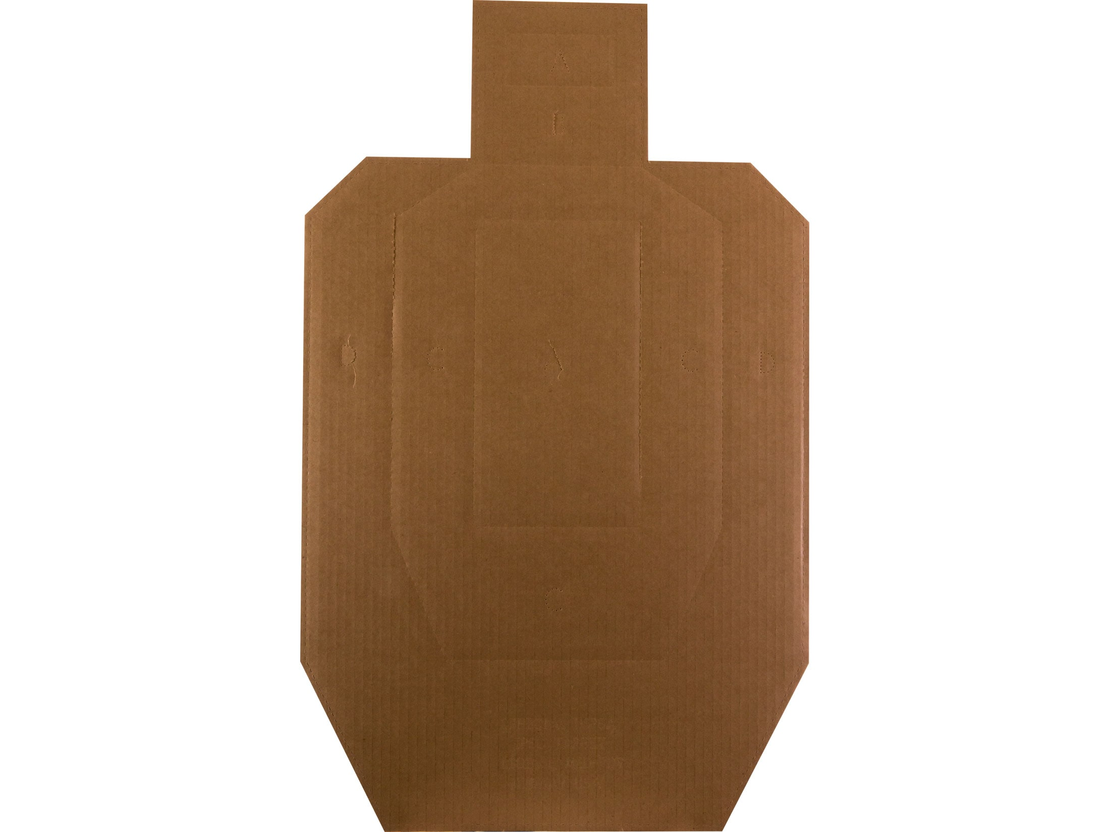 graphic relating to Printable Dry Fire Targets named MidwayUSA Formal USPSA Emphasis 1/2 Dimension Cardboard
