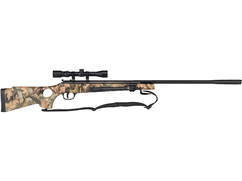 Winchester 1400 Break Barrel Air Rifle 177 Caliber Pellet Polymer Mossy Oak  Camo Stock Blue Barrel with 4x32 Scope Factory Reconditioned