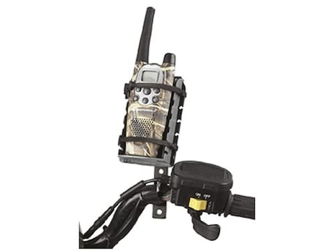 Mad Dog ATV Handheld Radio Mount Polymer Black