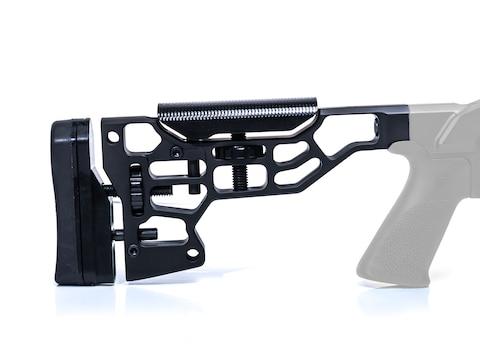 MDT Stock for ESS Chassis Aluminum Black