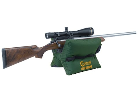 Caldwell Tackdriver Shooting Rest Bag Nylon Green Filled