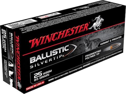 Winchester Ballistic Silvertip Varmint Ammo 25 Winchester Super Short