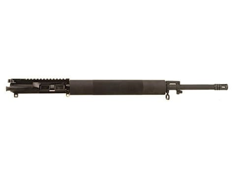 Bushmaster AR 15 V Match A3 Flat Top Upper Assembly 223 Remington 1 In 9 Twist 20 Chrome Lined Barrel Chrome Moly Matte With Free Float Aluminum