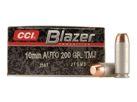 Blazer Ammunition 10mm Auto 200 Grain Total Metal Jacket Box of 50