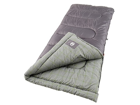 Coleman Lassen 20 40 Degree Sleeping Bag 33 X 75 Polyester Purple And Gray