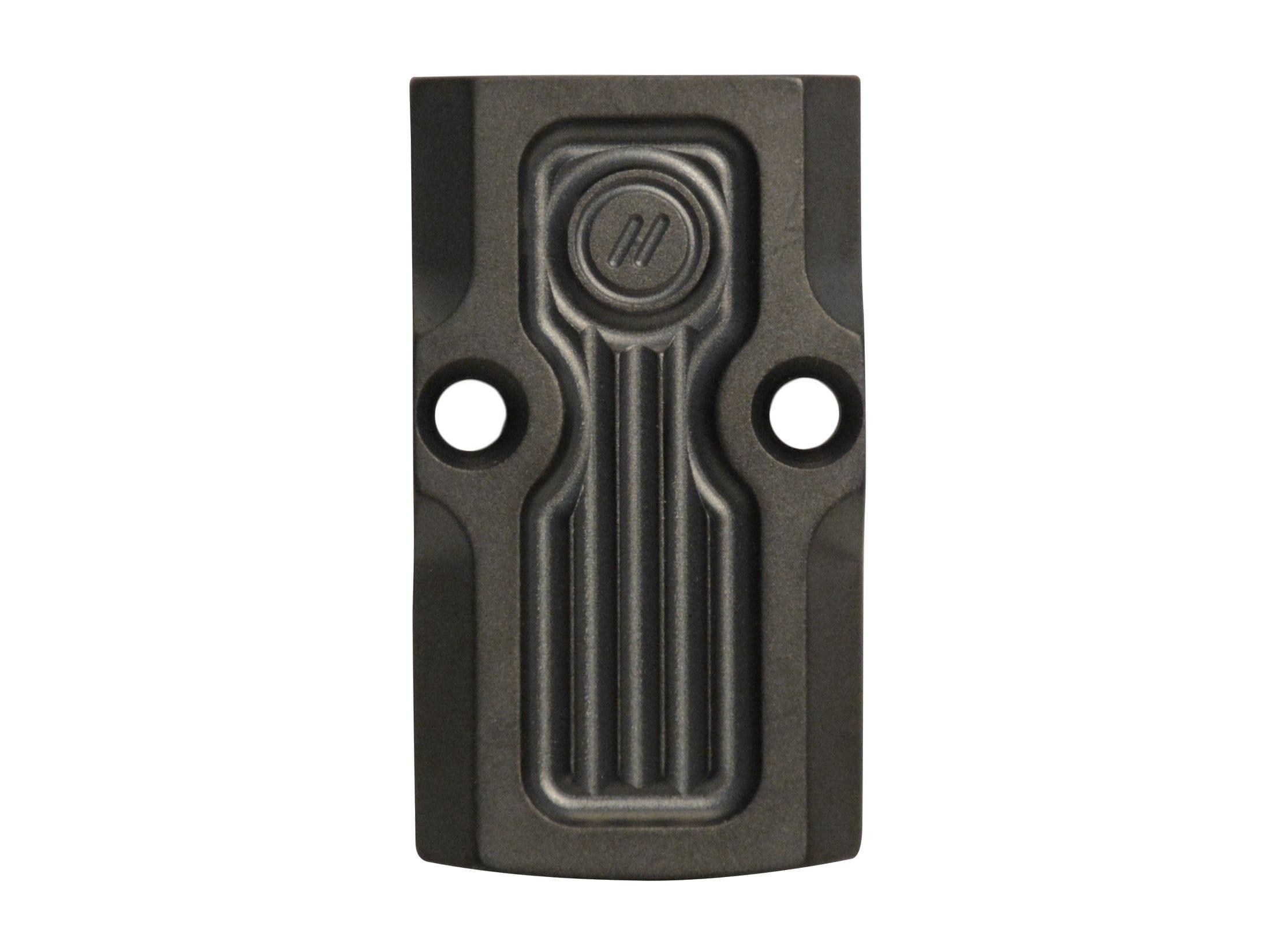 ZEV Technologies Slide Adapter RMR-Blank Stainless Steel Black DLC
