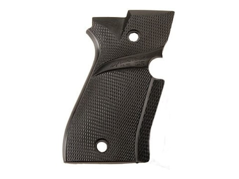 Pachmayr Signature Grips with Backstrap Beretta 81, 84 Rubber Black