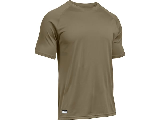 18cad2cd Under Armour Men's UA Tac Tech Short Sleeve T-Shirt Polyester