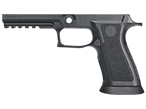 Sig Sauer Grip Module Assembly Sig P320, P250 X5 9mm Luger, 357 Sig, 40 S&W  Full Size Medium with Grip Weight and Funnel Black