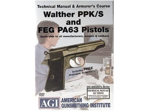 American Gunsmithing Institute (AGI) Technical Manual & Armorer's Course  Video