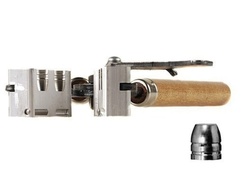 Lee 2-Cavity Bullet Mold 452-200-RF 45 ACP, 45 Auto Rim, 45 Colt (Long  Colt) (452 Diameter) 200 Grain Flat Nose