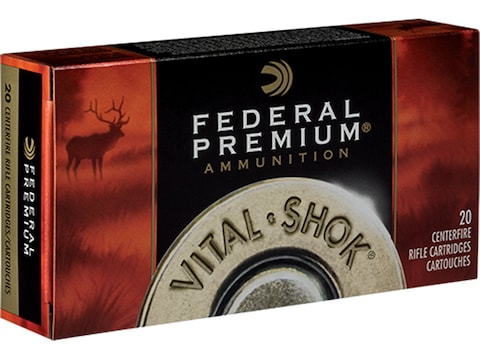 Federal Premium Ammunition 7mm Remington Magnum 165 Grain Sierra GameKing  Soft Point Boat Tail Box of 20