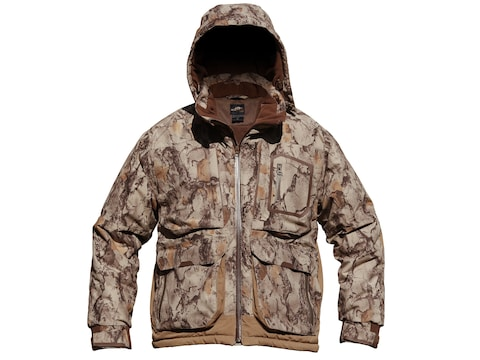 pretty nice 4ce93 0d806 Natural Gear Men's Cut Down 3-in-1 Duck Coat Waterproof Insulated Polyester