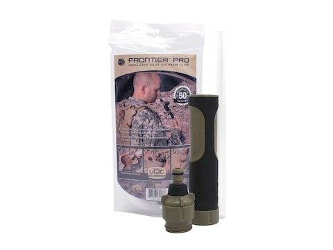 Aquamira Tactical Frontier Pro Military Army Hiking Travel Drinking Water Filter