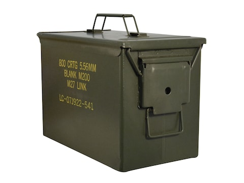 Military Surplus Fat 50 Ammo Can 50 Caliber