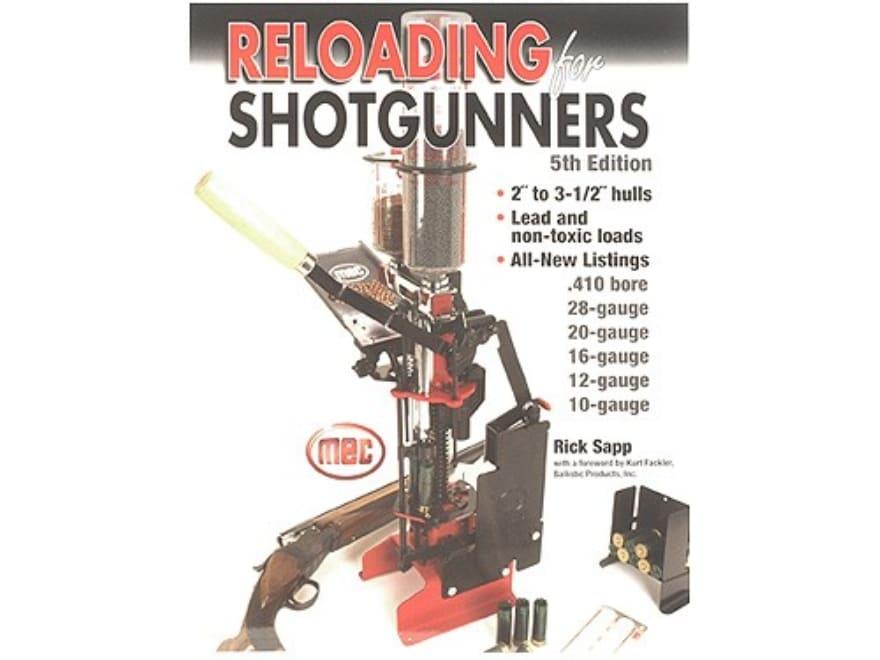reloading for shotgunners 5th edition
