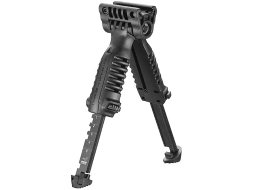 Short Black Grip Foregrip Hunting for Rifle Vertical Picatinny Rail Storage *