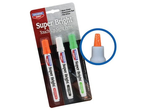Birchwood Casey Super Bright Touch Up Sight Pens Neon Green And Red