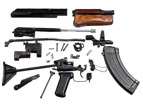 Military Surplus AK-47 Egyptian Maadi Side Folding Stock Parts Kit with  30-Round Magazine 7 62x39mm