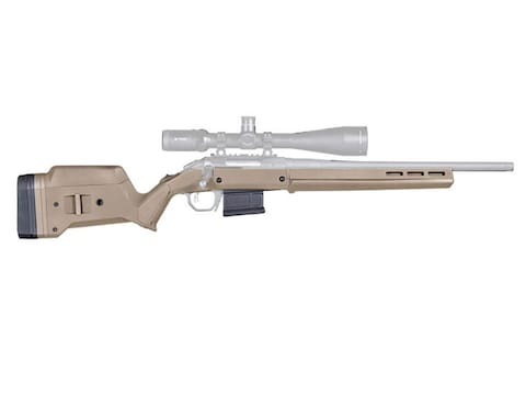 Magpul Hunter American Stock with Magazine Well and PMAG 5 7 62 AC 5-Round  Magazine Ruger American Short Action Polymer