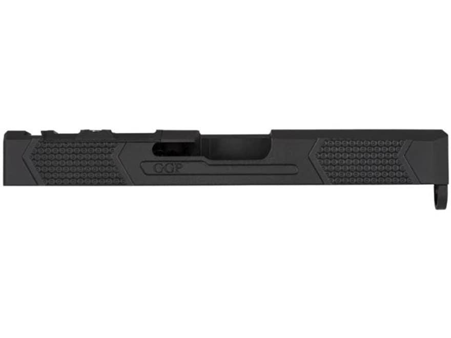 Grey Ghost Precision V4 Slide Glock Gen 3 RMR, DeltaPoint Pro Cut Stainless  Steel Black